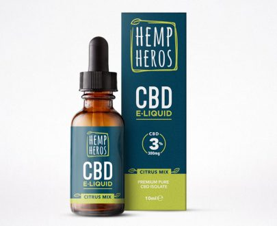 10ml CBD E-Liquid 3% (300mg) Citrus Mix