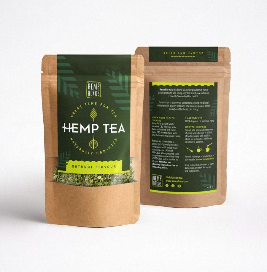 Hemp Heros Hemp Tea