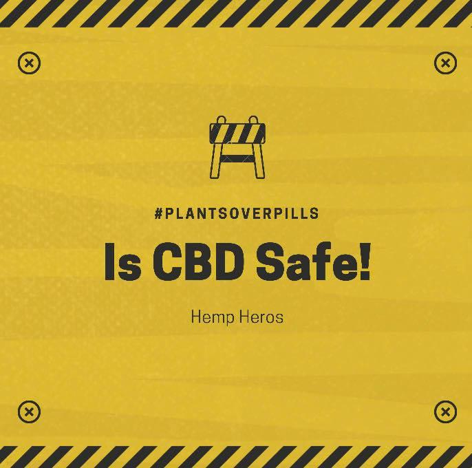 IS CBD SAFE ?