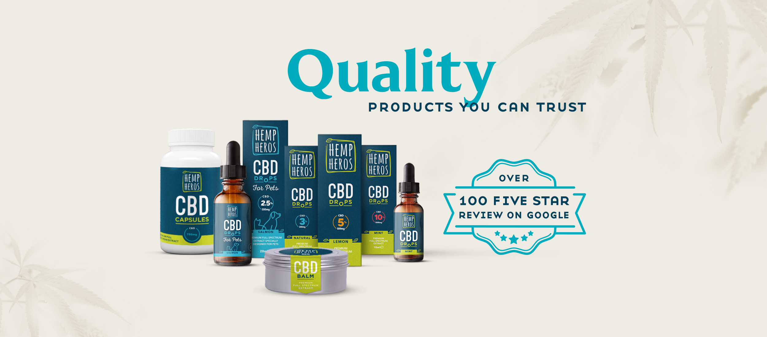 Hemp Heros products