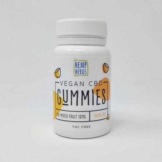 Hemp Heros Vegan CBD Gummies