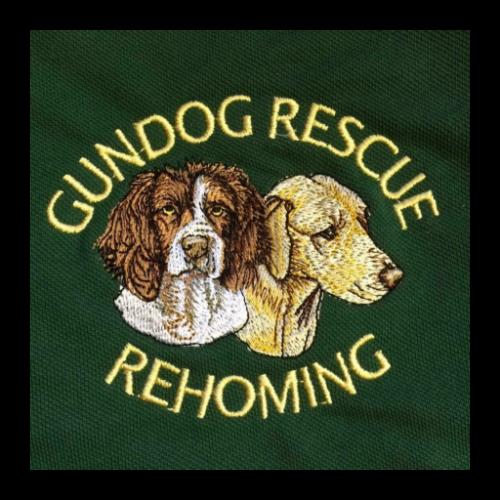 gun dog rescue logo